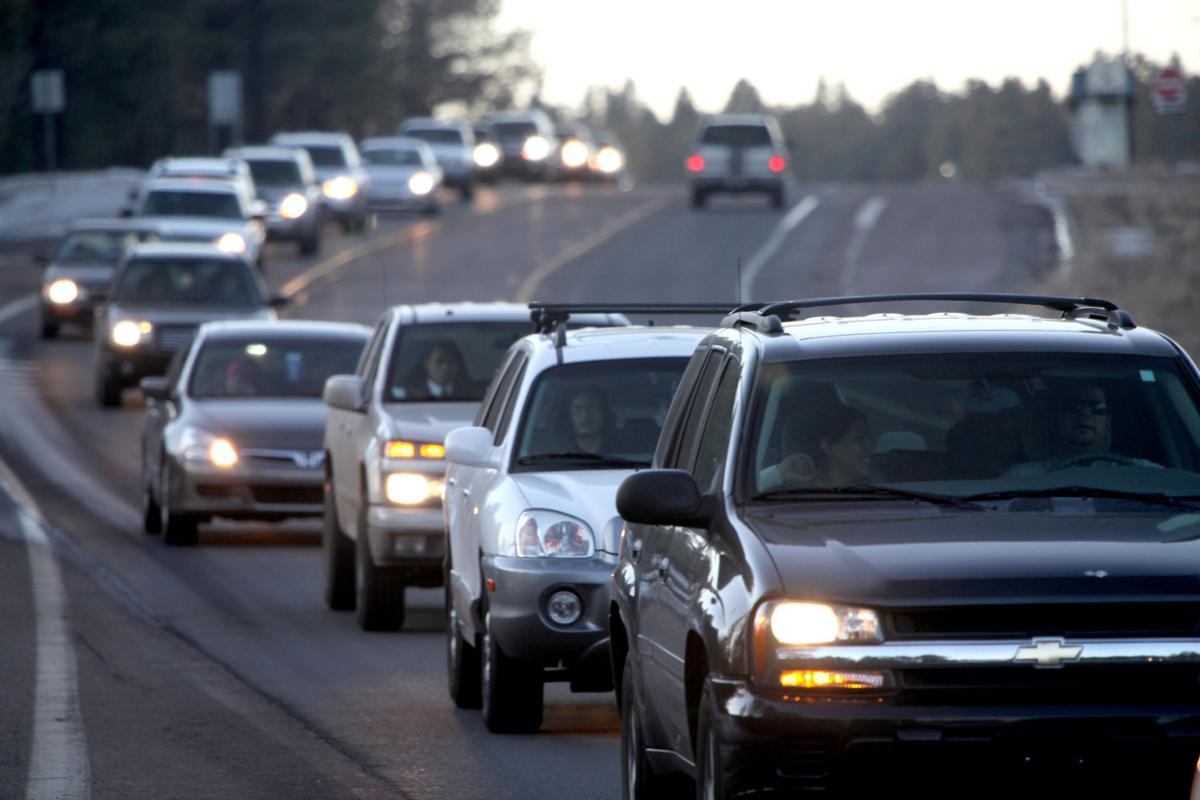 Highway 180 traffic