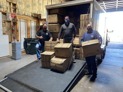 230,000 masks donated