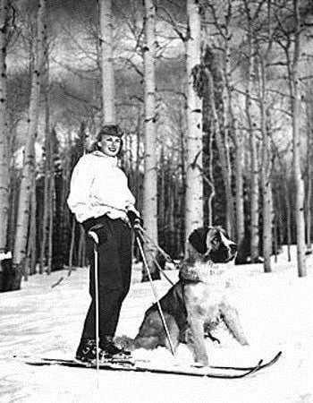 Skiing Snowbowl 1947