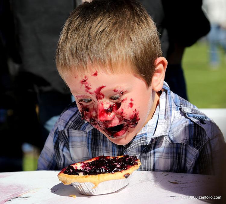 Pie eating delight