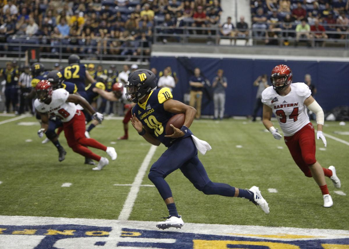 Northern Arizona Eastern Washington Football