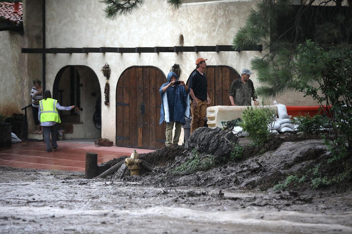 Flooding at Paradise and Linda Vista