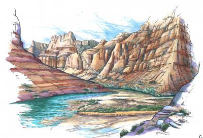 Grand Canyon Navajos