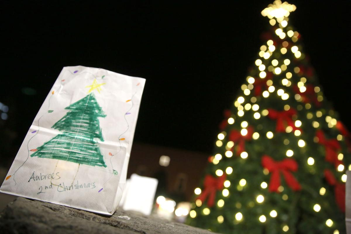 Christmas Tree Luminaria