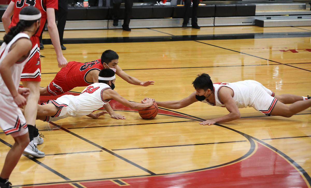 Coconino Versus Page Boys Basketball