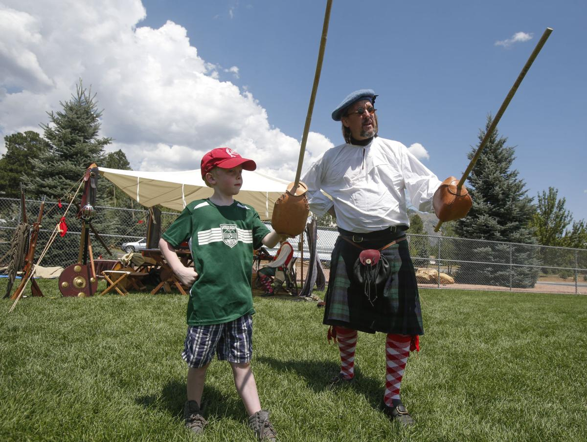 Bagpipes Cabers And Clans At Flagstaff Celtic Fest
