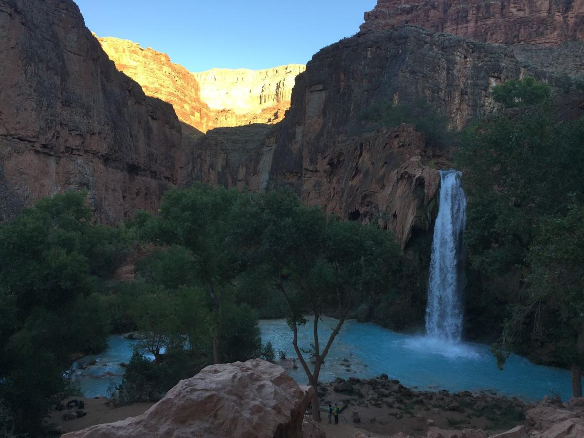 Waterfall at Havasupai