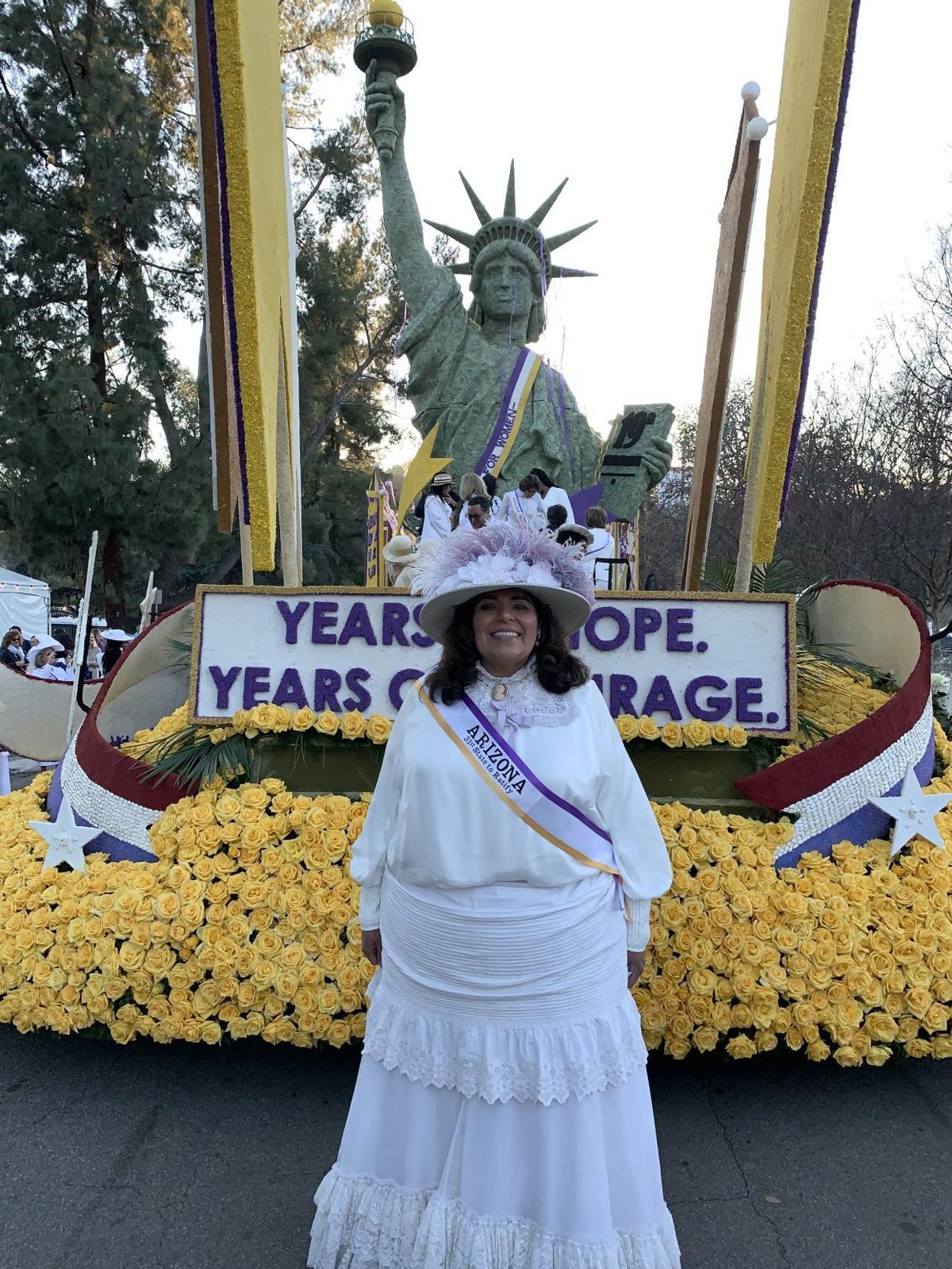 Supervisor Archuleta at the Rose Parade