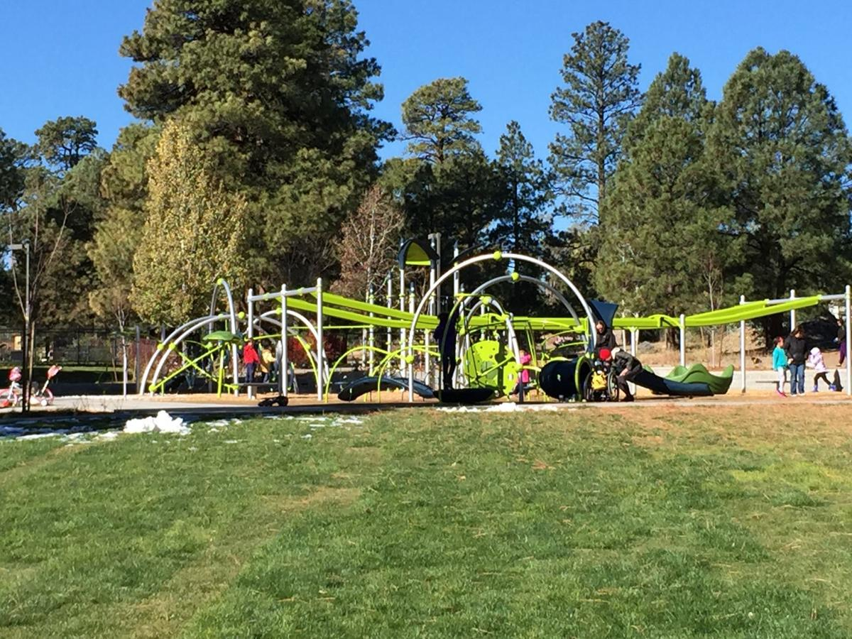 New playground at Bushmaster Park