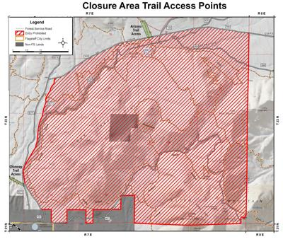 Forest closures as of Feb. 11