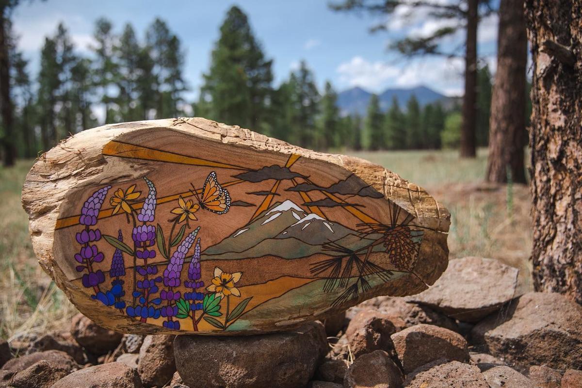 Ashley Matelski wood piece
