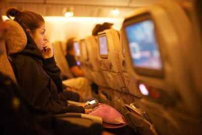 movies on a plane