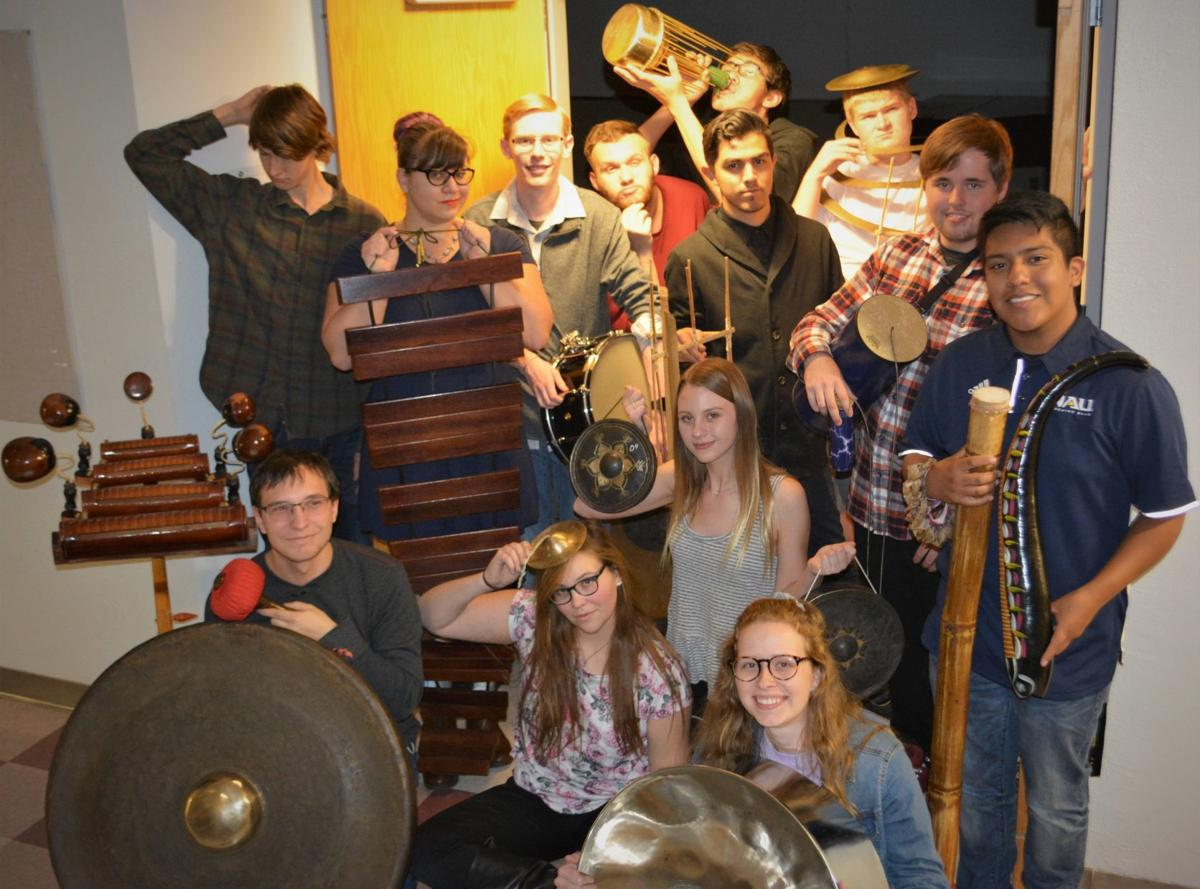 Percussion Ensemble Fall 2018