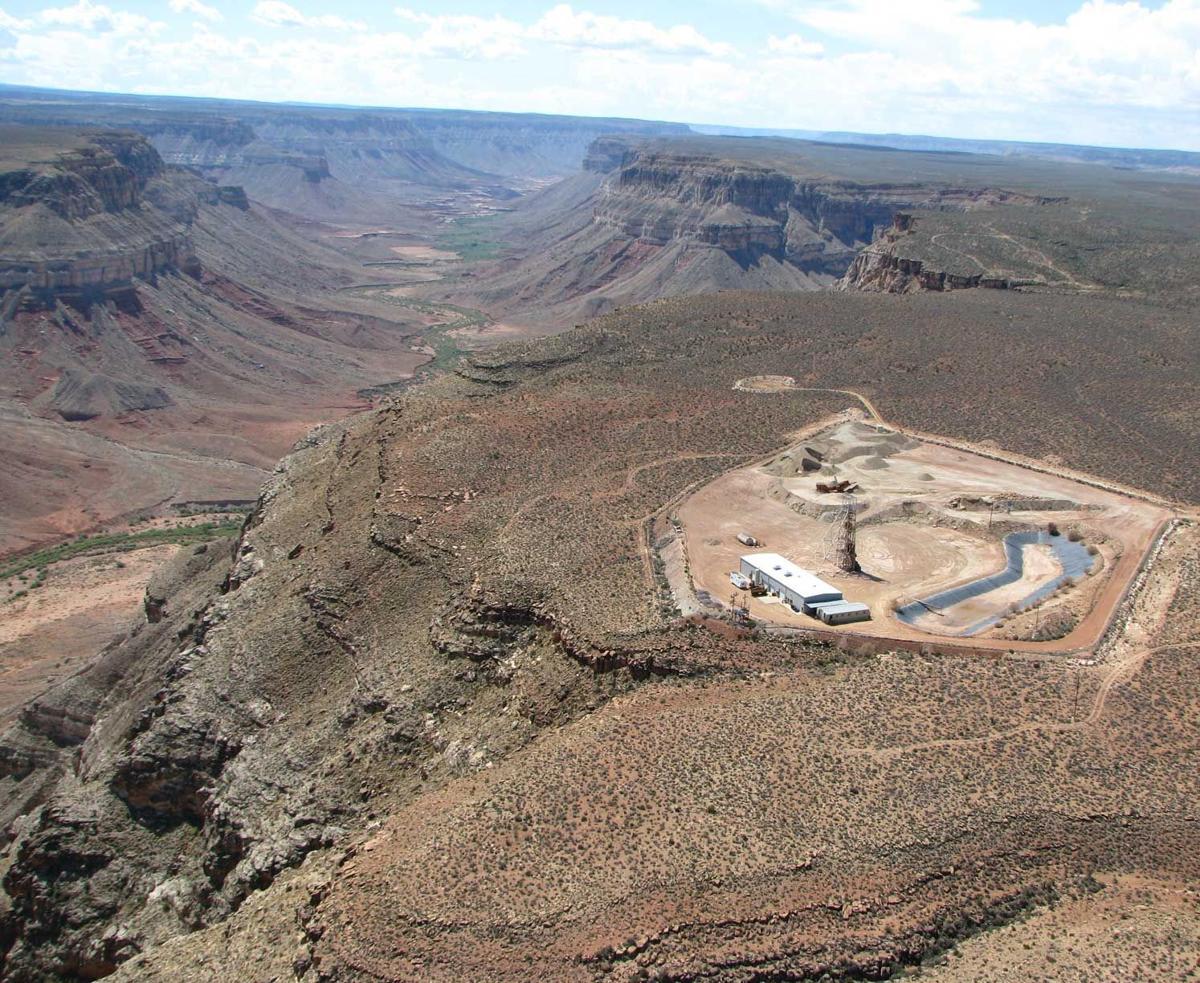 Kanab uranium  mine 2