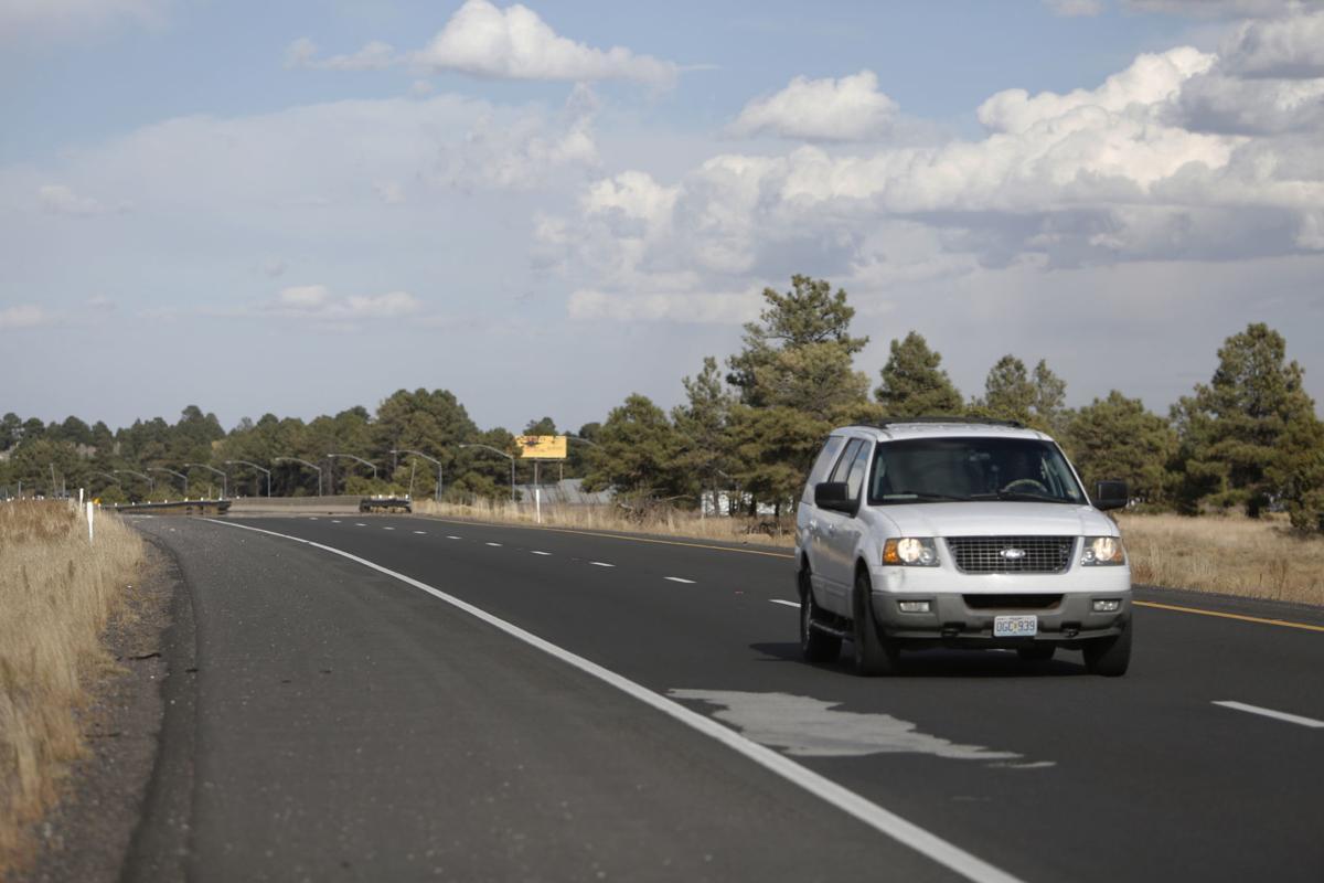Potholes on I-40