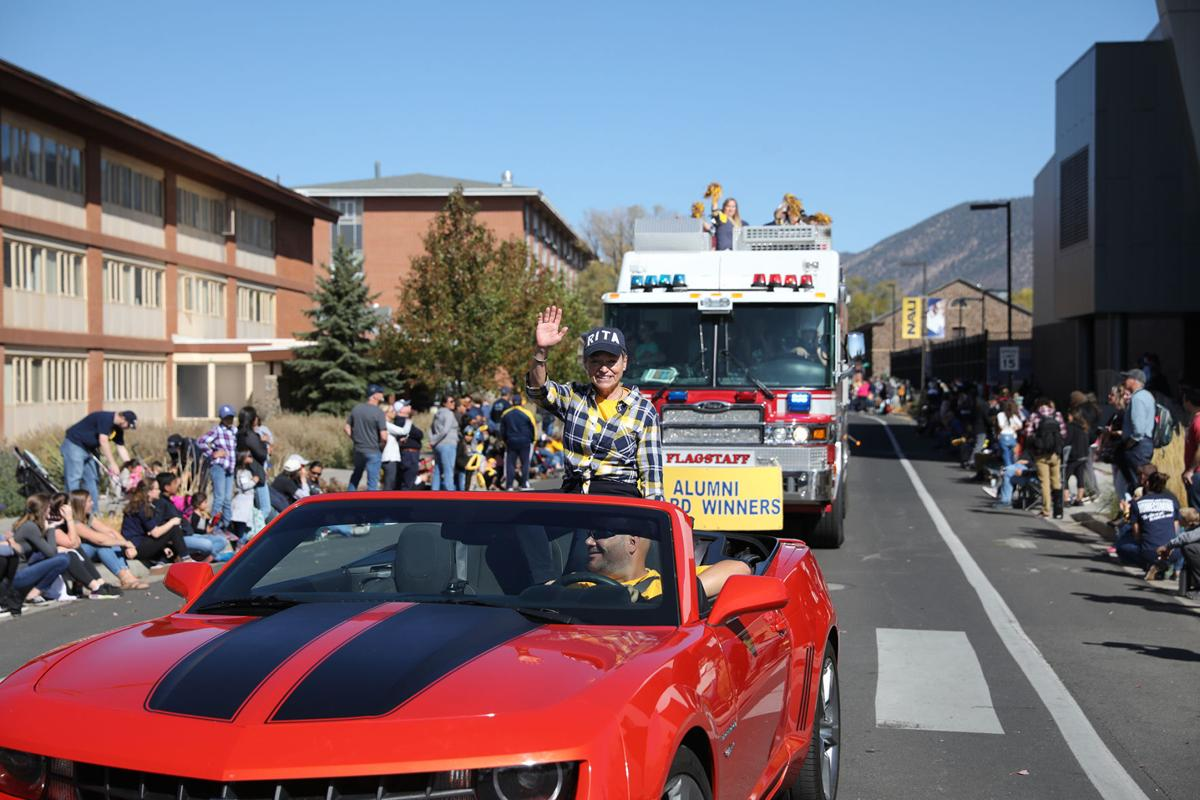 Cheng in the Homecoming Parade