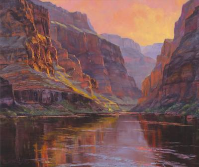 Framing immensity: Artist Dawn Sutherland on painting the Grand Canyon