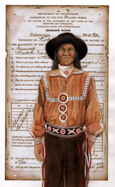 Choctaw Land and Blood