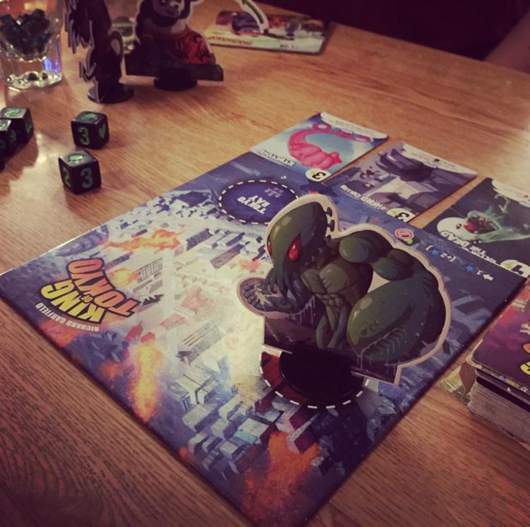 Tabletop Game Night King of Tokyo