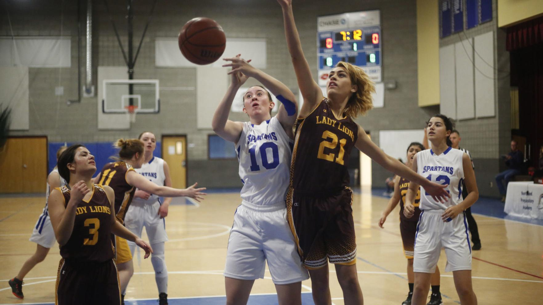 Northland Prep girls hoops steps on gas in 2nd half to get 3rd straight win