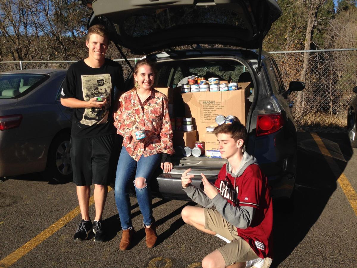 Flagstaff High School food drive