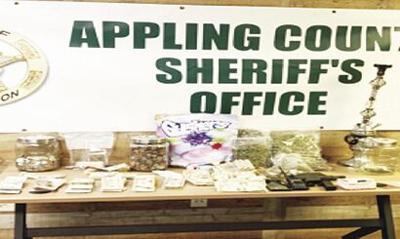 Sheriff announces  several drug arrests  in Appling County