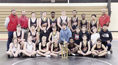 ACMS Wrestling Team  wins Championship