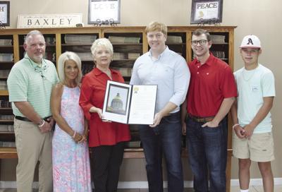 Parker honored by Georgia Senate
