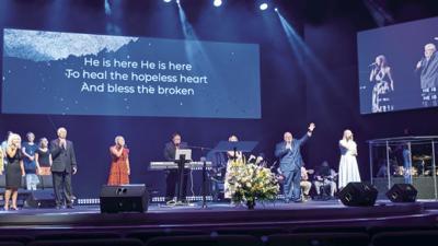 Baxley Church of God  dedicates new sanctuary
