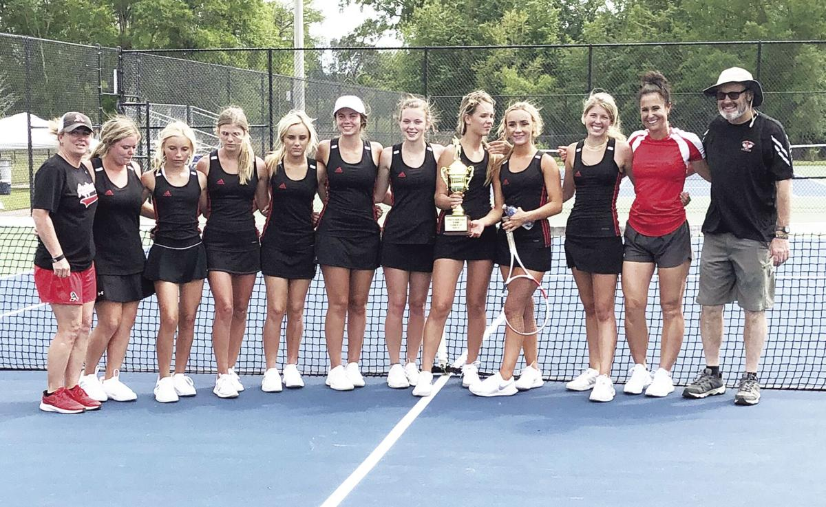 Lady Pirates second in region tourney