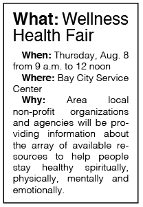 Bay City Police slates annual wellness health fair