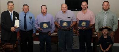 Cradle of Texas, Chapter 33 inducts six, two members celebrate ten years