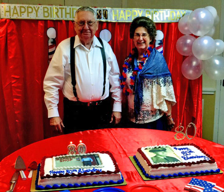 Clayton celebrating 50 years in barber business