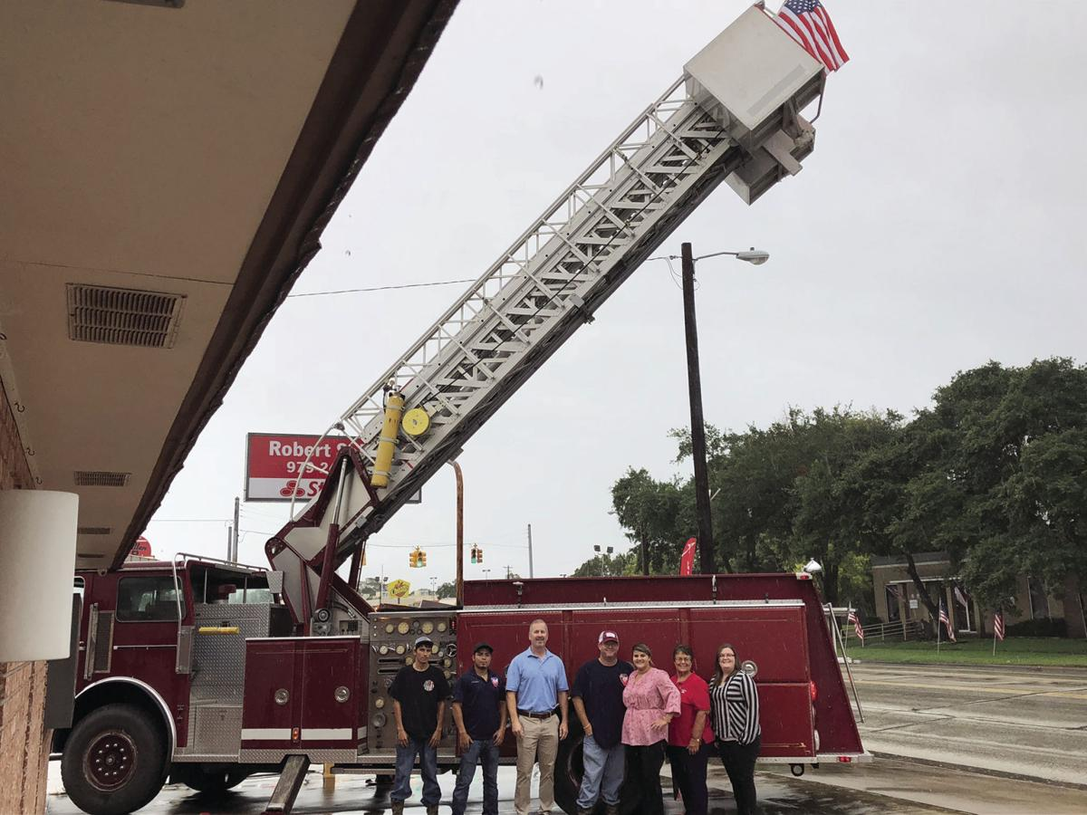 agent purchases fire truck community