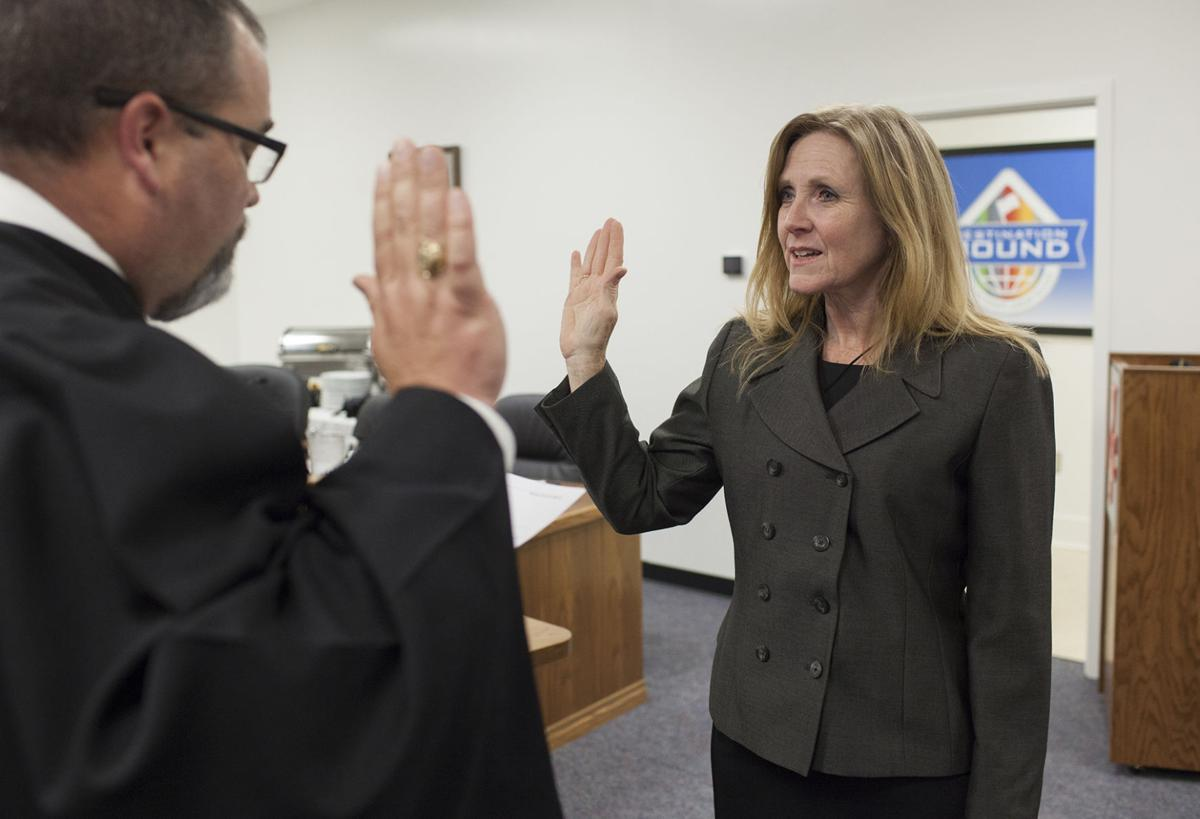 Wharton County Junior College Trustee sworn in