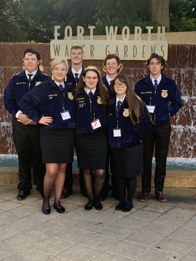 Bay City High School sends 7 to FFA convention
