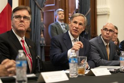 In spite of it all, a Texas government that's running full-steam ahead