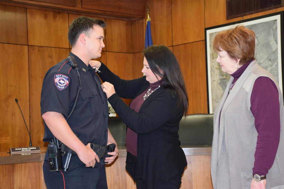 Bay City PD swears in new officer