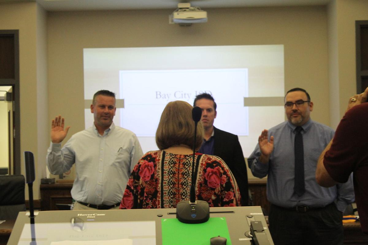 BCISD ushers in new trustees