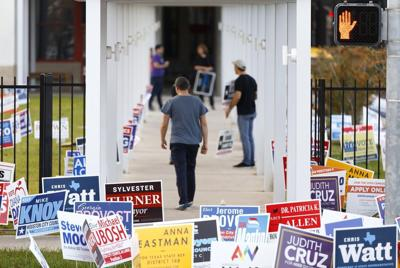 Half of registered Texas voters turned out in 2018. Just 12% turned out this year.