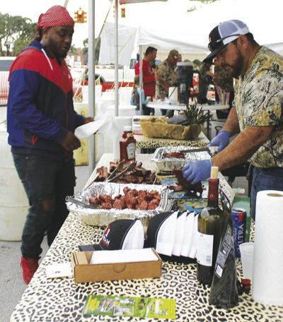 Downtown area preps for CamoFest