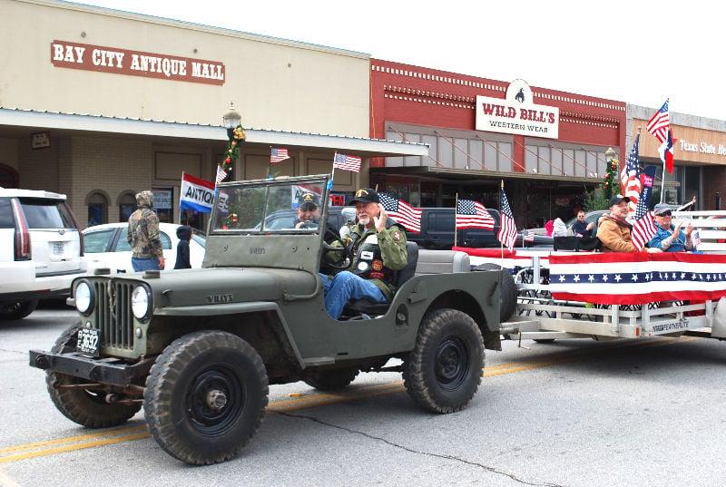Matagorda County honors veterans with annual parade