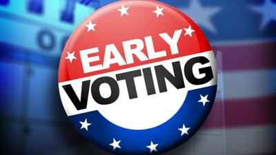 Early voting numbers show leaders in contested local races
