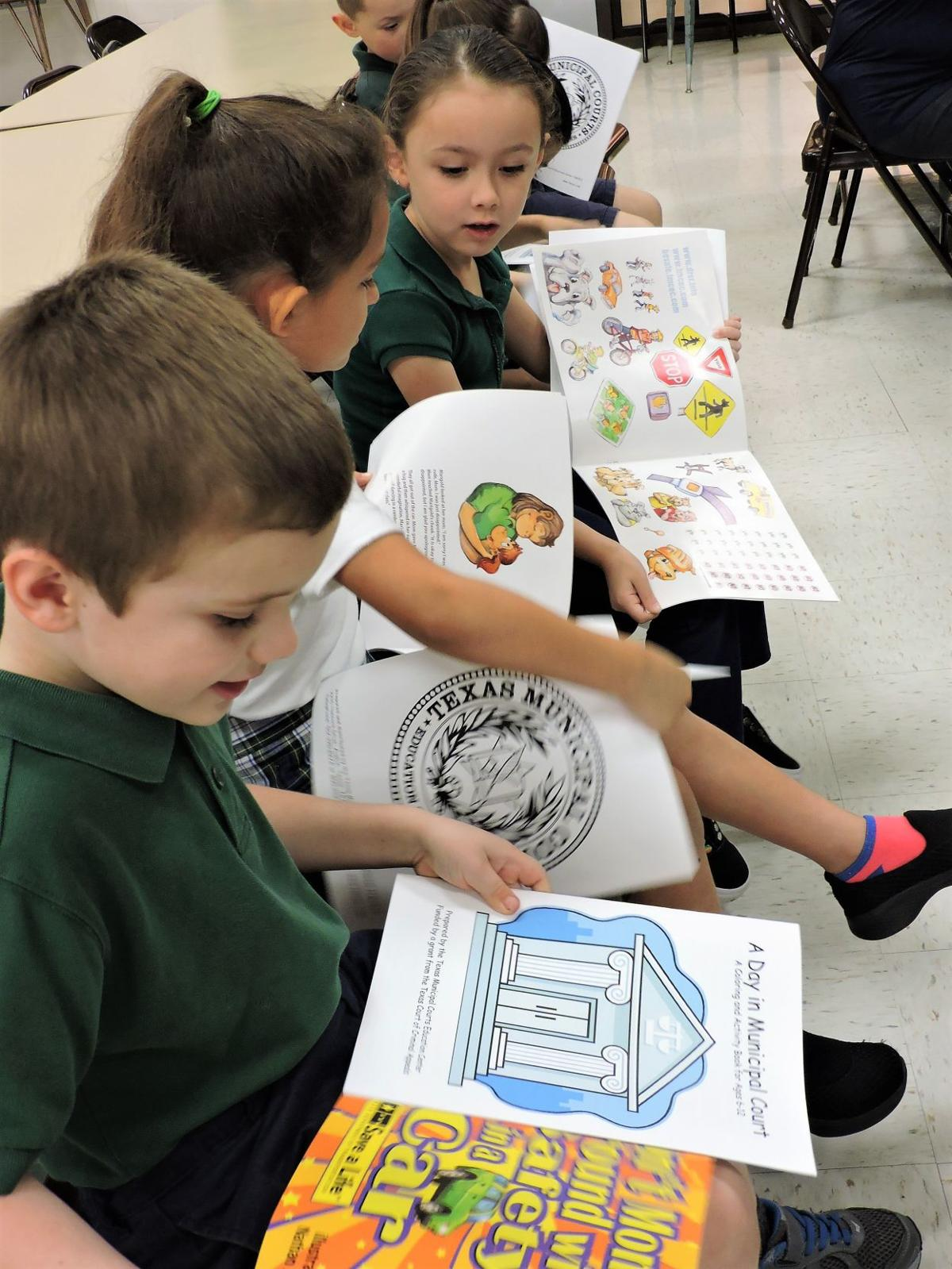 Students learn about 'Car Seat Safety'