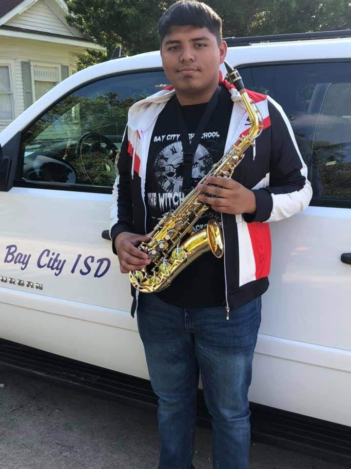 Blackcat Band musician qualifies for Area Jazz Ensemble