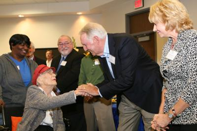 Neary, 99, inducted into BCISD Distinguished Alumni Class of 2018