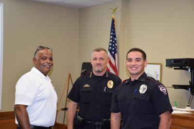 BCPD Swears in New Officer