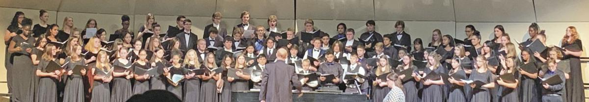 BCJH places 8 on Region Choir