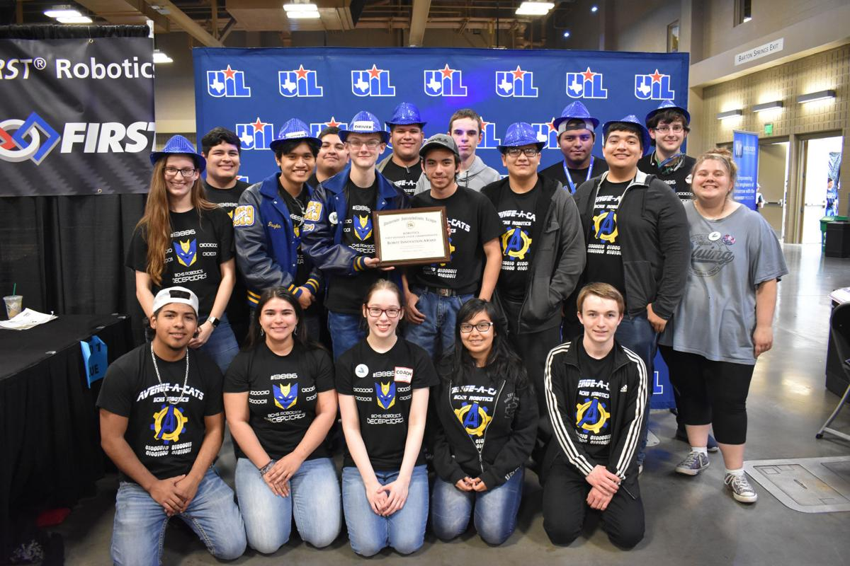 BCHS Robotics wins Innovation Award at State Championship