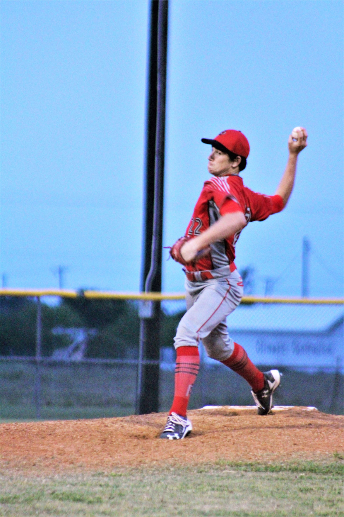 Palacios outlasts Coldspring in tough three game series
